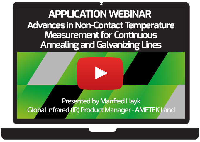 Advances in Non-Contact Temperature Measurement for Continuous Annealing and Galvanizing Lines